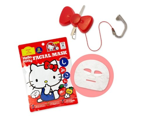 Hello Kitty Face Mask Facial Massager Set