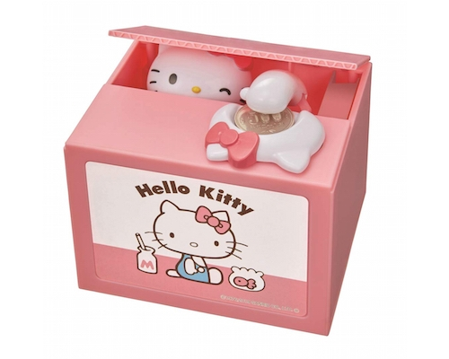 New Hello Kitty Itazura Coin Bank
