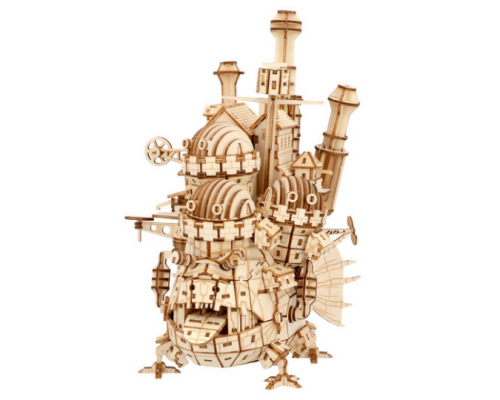 Ki-Gu-Mi Howl's Moving Castle Wooden Model Kit