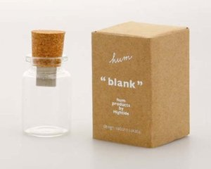 hum Blank Empty Bottle USB Memory Stick