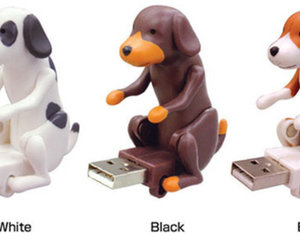 Humping Dog USB Memory Stick Set