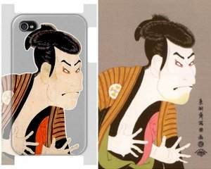iPhone 4 Ukiyoe Sharaku Case