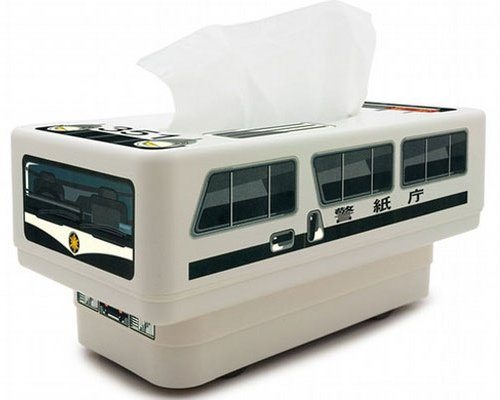 RC Tissue Box Japanese Police Car