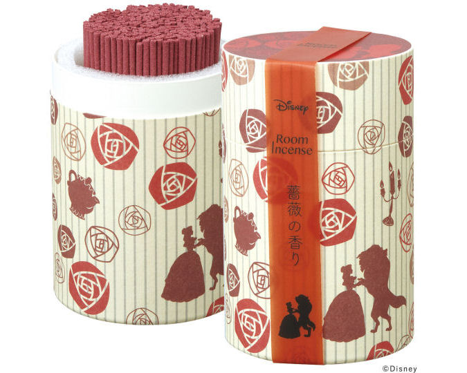 Kameyama Disney Beauty and the Beast Incense