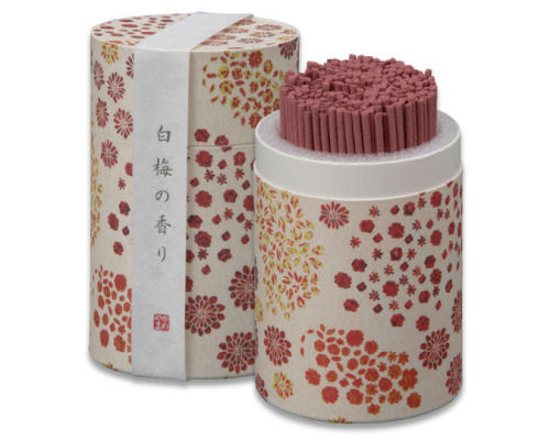 Kameyama Wayu White Plum Incense