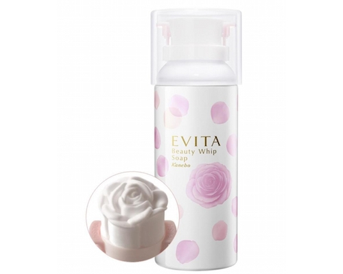 Kanebo Evita Rose Cleanser Beauty Whip Soap