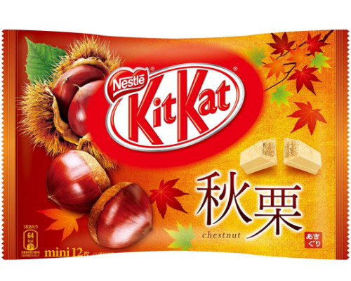 Kit Kat Mini Autumn Chestnut (Pack of 12)