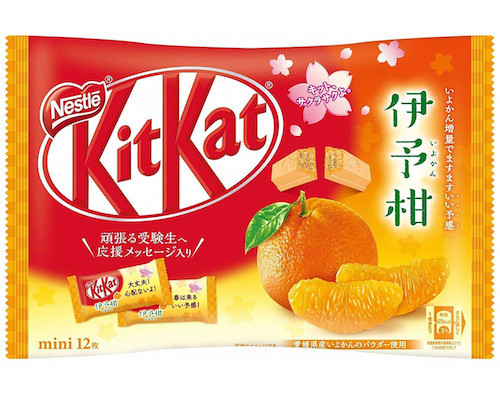 Kit Kat Mini Iyokan Citrus Flavor (Pack of 12)