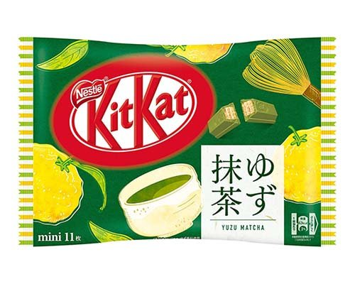 Kit Kat Mini Yuzu Matcha (11 Pack)