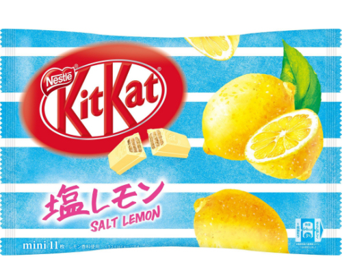 Kit Kat Mini Salt Lemon (Pack of 11)