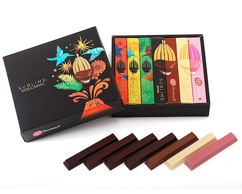 Kit Kat Chocolatory Sublime Volcanic (Pack of 7)