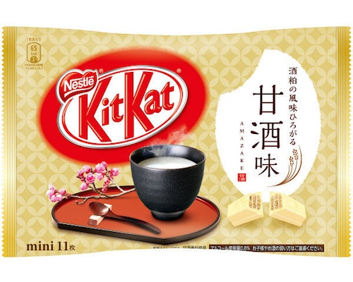 Kit Kat Mini Japanese Amazake Flavor (Pack of 11)