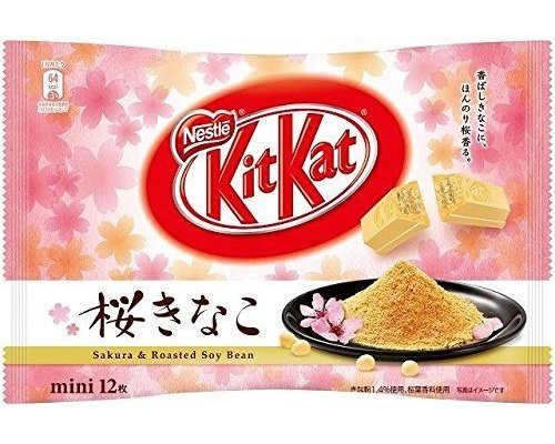 Kit Kat Mini Cherry Blossom Roasted Soybean (Pack of 24)