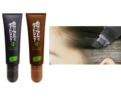 Rishiri Kombu Seaweed Extract Hair Dye Brush