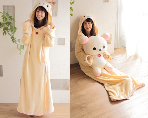 Korilakkuma Wearable Blanket