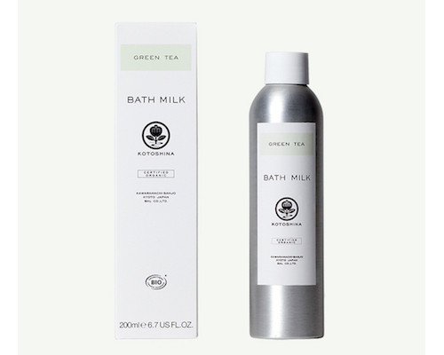 Kotoshina Organic Green Tea Home Bath Milk