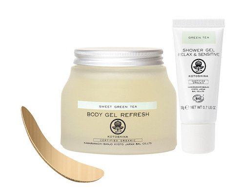 Kotoshina Organic Green Tea Home Spa Kit