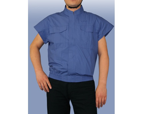 Kuchofuku Air-Conditioned Short Sleeve Work Shirt