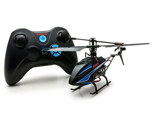 Kyosho 3ch Black Swallow Zero RC Helicopter
