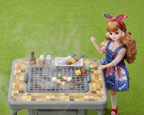 Licca-chan's Delicious BBQ