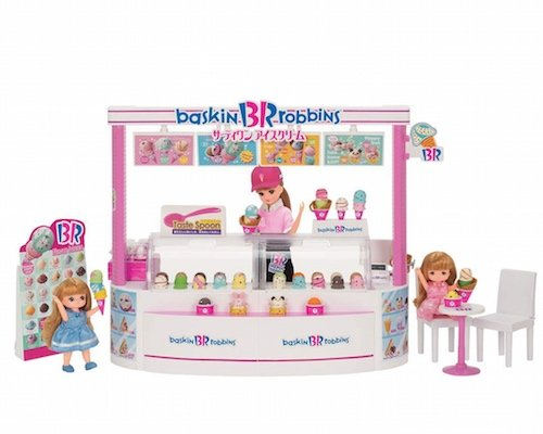Licca-chan Baskin-Robbins Ice Cream Shop Set