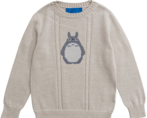 My Neighbor Totoro Hand-knit Sweater for Kids