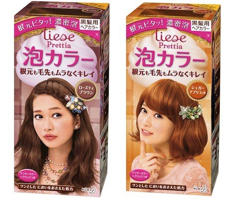 Liese Prettia Awa Bubble Color Hair Dye Set