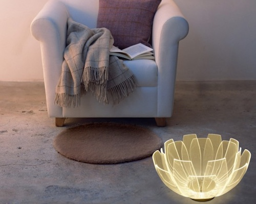 Lotus Flower LED Table Lamp