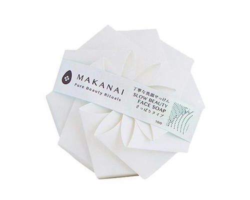 Makanai Slow Beauty Face Charcoal Soap