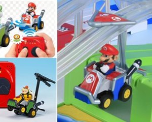 Mario Kart 7 Choro Q Racing Game Set