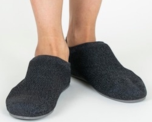 Gunze Men's Knitted Room Shoes