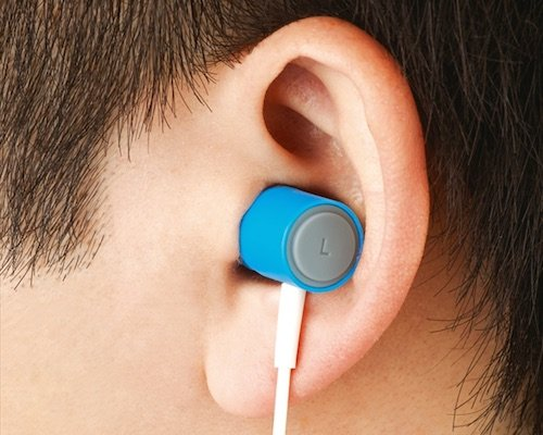 Mezamashi Vibrating Alarm Earphones by King Jim