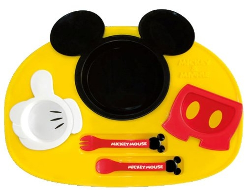 Mickey Mouse Lunch Plate Set