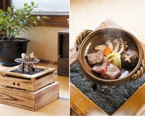 Mini Irori Hearth Cooking Set