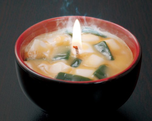 Miso Soup Candle