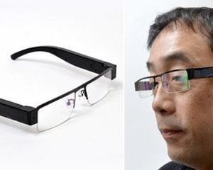 Mitamanma Megane HD Camera Glasses H.264