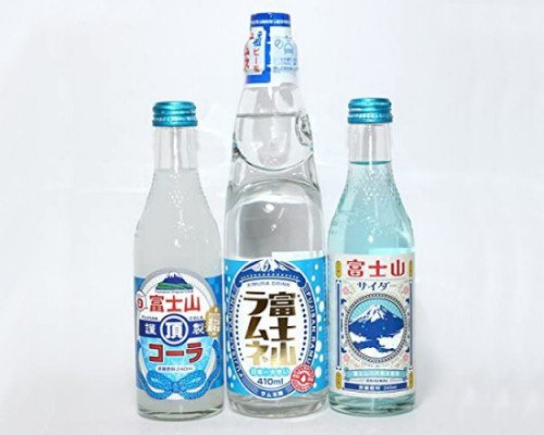 Mount Fuji Soft Drink Set