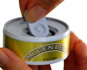 Mugen Beer Infinite Beer Can