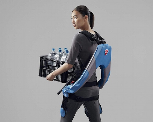 Muscle Suit Every Wearable Exoskeleton Tight Fit
