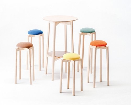 Astounding Metaphys Lucano Step Stool Japan Trend Shop Caraccident5 Cool Chair Designs And Ideas Caraccident5Info