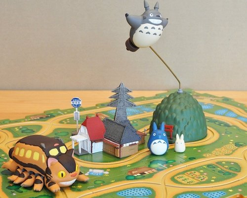 My Neighbor Totoro Matsugo Catbus Route Game