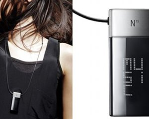 N15 Jewel Necklace MP3 Music Player