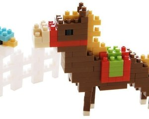 Nanoblock 2014 Nengajo Horse New Year Card
