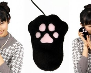 Neko Cat Paw Computer Mouse