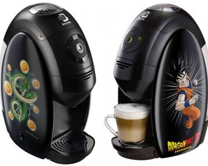 Dragon Ball Nescafe Gold Blend Barista Coffee Maker