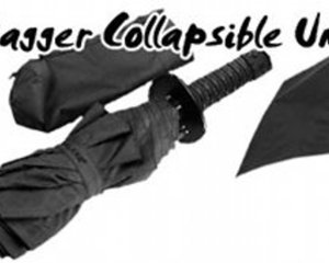 Ninja Dagger Collapsible Umbrella