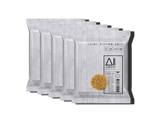 Nissin All-in Noodles (5 Pack)