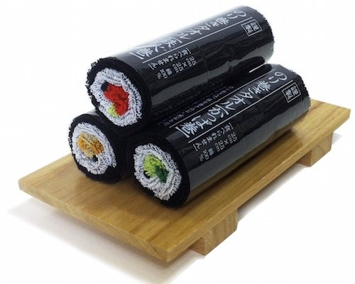 Norimaki Sushi Roll Towel Gift Set