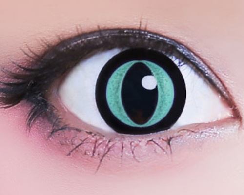 Nyan Nya Cat Eye Contact Lenses