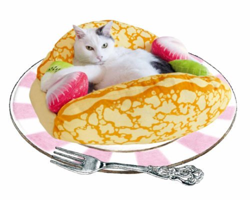 Nyanko Crepe Omelet Cat Bed
